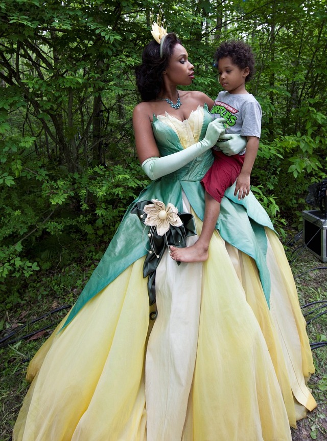Jennifer Hudson as Disney's Princess Tiana