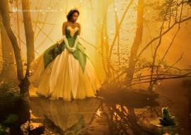 Jennifer Hudson as Disney's Princess Tiana