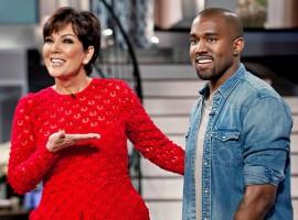 Kanye and Kim's Baby North