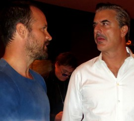 """Peter Sarsgaard and Chris Noth of """"Lovelace"""""""