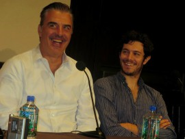 "Peter Sarsgaard and Chris Noth of ""Lovelace"""