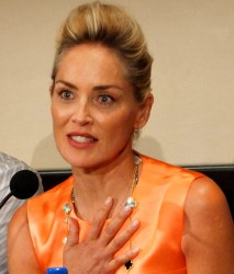 "Sharon Stone of ""Lovelace"""