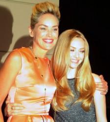 """Sharon Stone and Amanda Seyfried of """"Lovelace"""""""