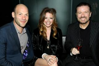 Corey Stoll, Natasha Lyonne, Ricky Gervais