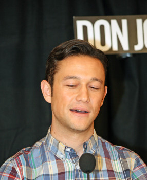 "Joseph Gordon-Levitt at the ""Don Jon"" press conference in New York | Melanie Votaw Photo"