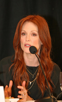 """Julianne Moore at the """"Don Jon"""" press conference in New York 