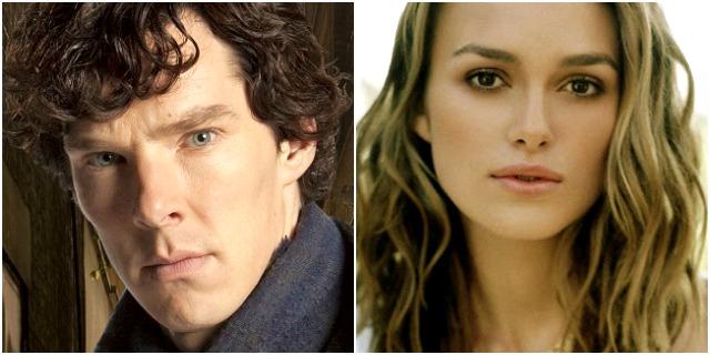 Benedict Cumberbatch, Keira Knightley