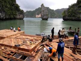 Thailand's Floating Cinema