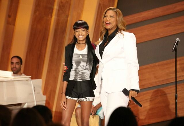 Willow Smith and Queen Latifah