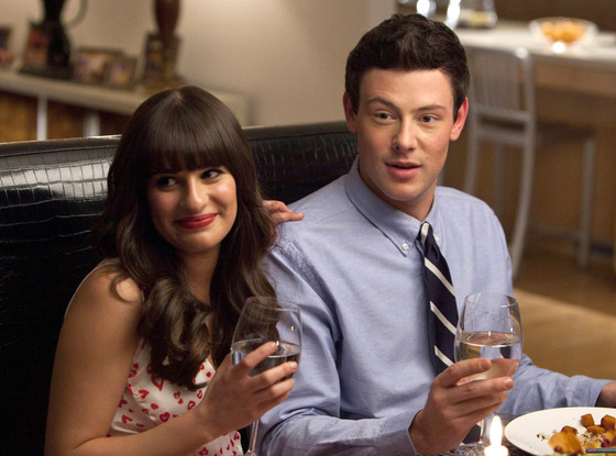 Glee's Lea Michele and Cory Monteith