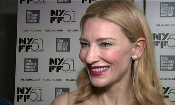Cate Blanchett honored at the New York Film Festival 2013