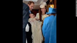 Prince George Christening: Oct. 23, 2013
