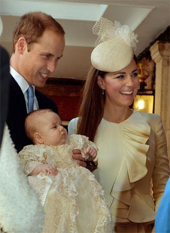 Prince George Christening: Oct. 23, 2013