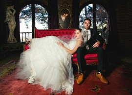 Rose McGowan Wedding Photos