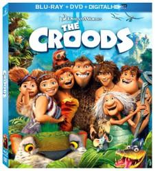 The Croods on DVD/Blu-ray