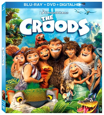 The Croods on DVD/Blu-ray