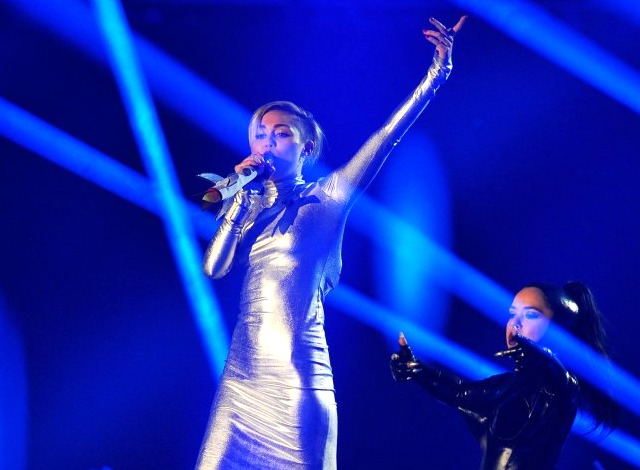 2013 MTV EMAs Miley Cyrus
