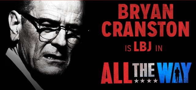 Bryan Cranston in All the Way