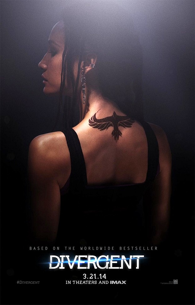 Divergent Character Poster Tori, Maggie Q