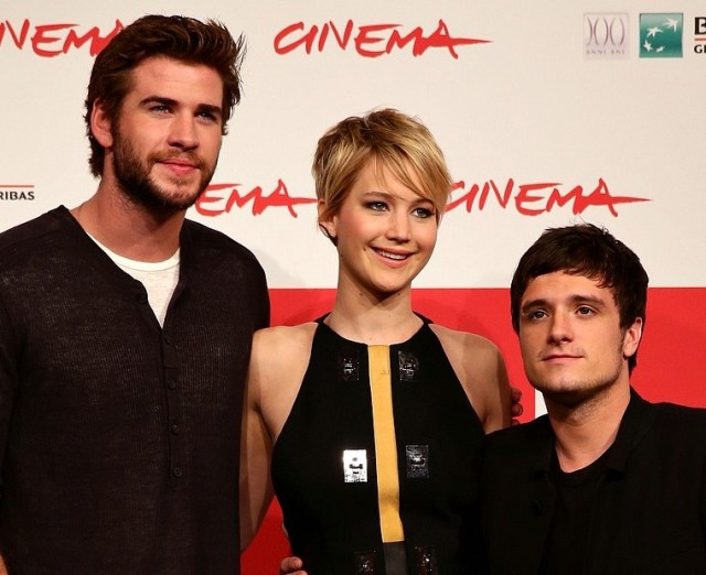 Jennifer Lawrence Catching Fire Rome