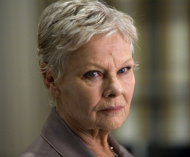Judi Dench as James Bond's M
