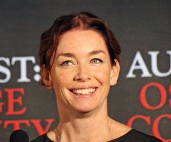 """Julianne Nicholson at the press conference for """"August: Osage County"""" 