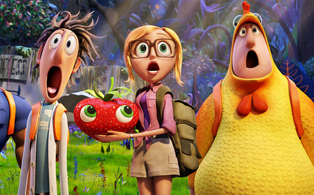 Movie Review Cloudy With A Chance Of Meatballs 2 Reel Life With Jane