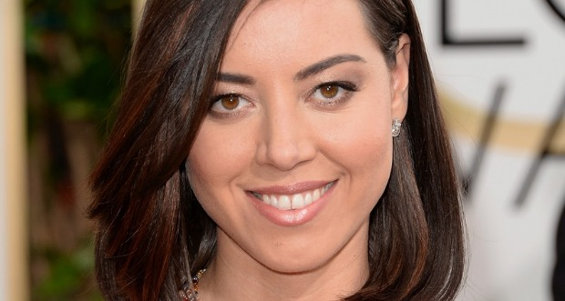 Golden Globes 2014 Aubrey Plaza