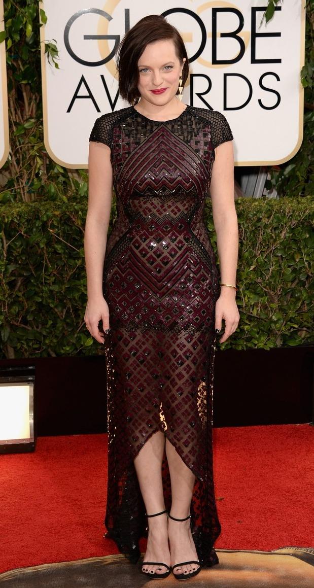 Golden Globes 2014: Elisabeth Moss