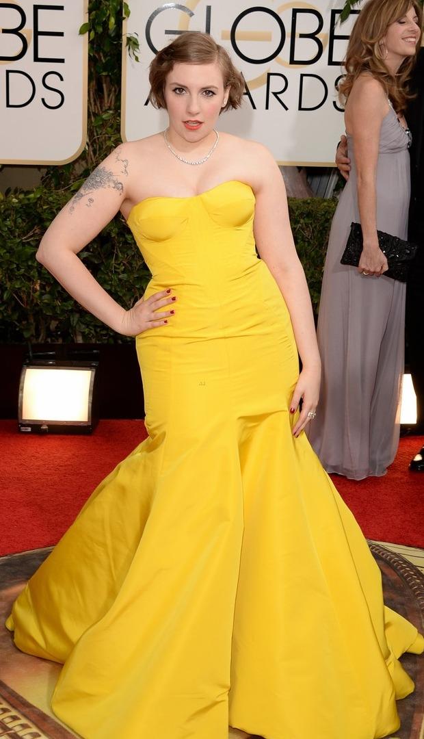 Golden Globes 2014 Lena Dunham