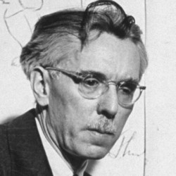 "James Thurber, author of short story, ""The Secret Life of Walter Mitty."""