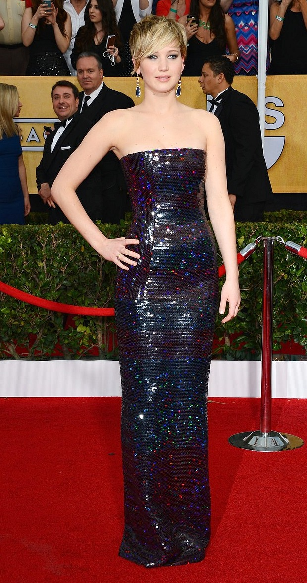 SAG Awards 2014 Jennifer Lawrence 2