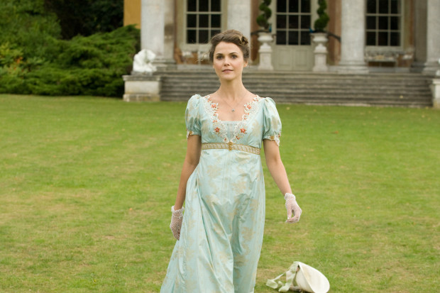 "Keri Russell in ""Austenland"" (Sony Pictures Entertainment)"