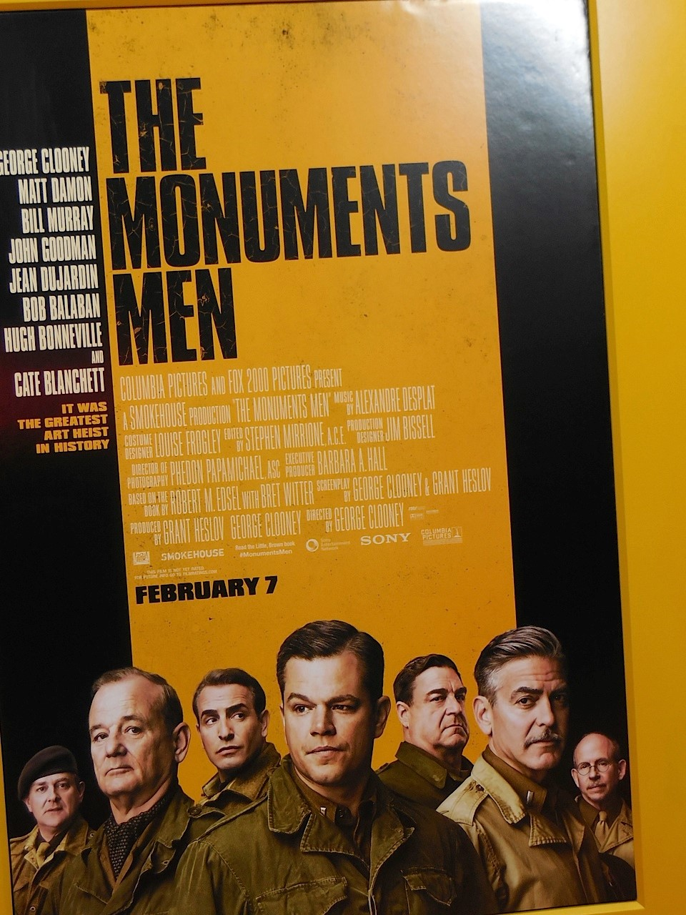 The Monuments Men Manhattan Premiere