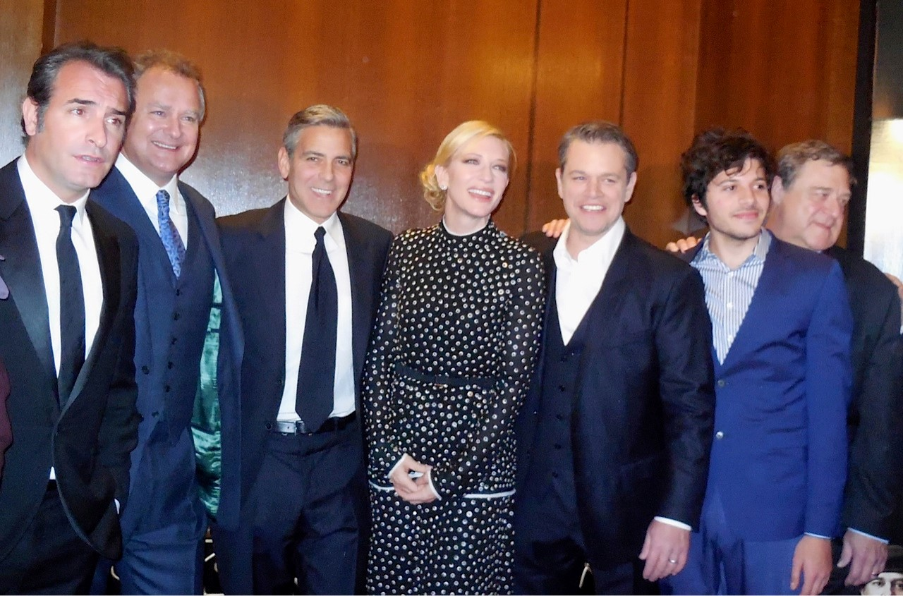 The Monuments Men Manhattan Premiere