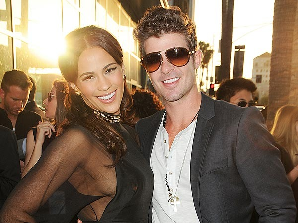 Robin Thicke Paula Patton Split