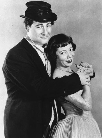 Sid Caesar and Imogene Coca