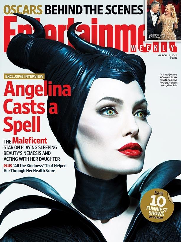 Angelina Jolie Maleficent EW