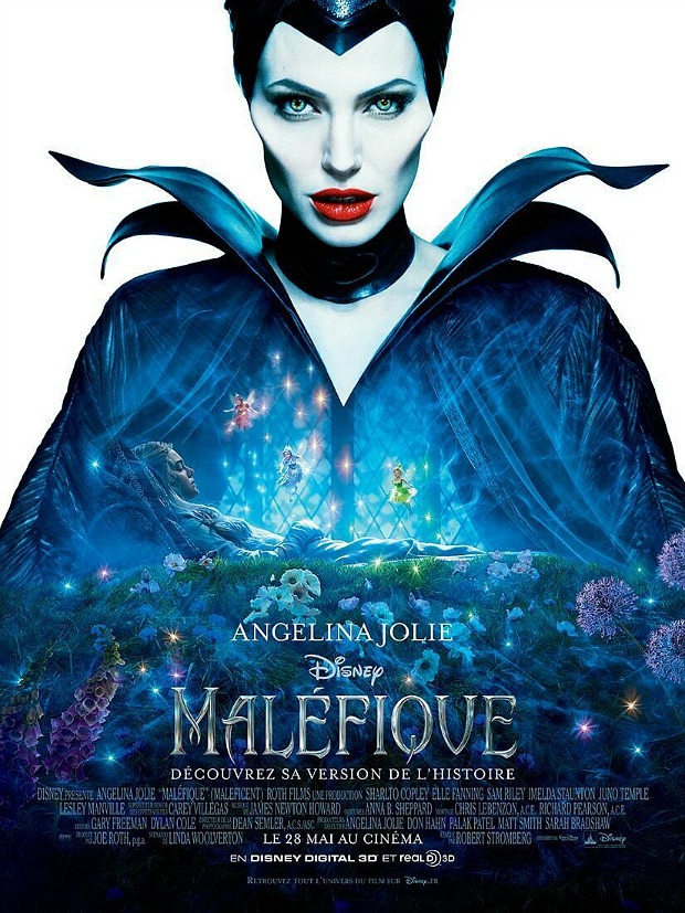 Angelina Jolie Maleficent French Poster