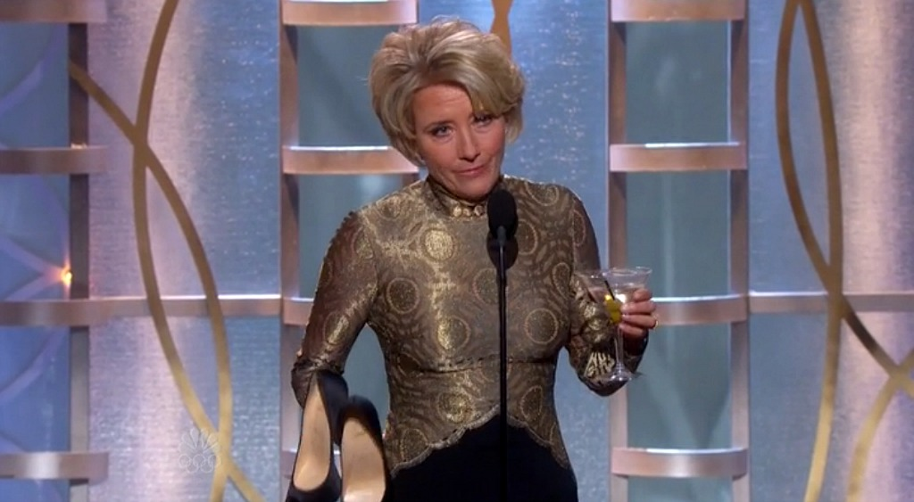 Emma Thompson Drunk