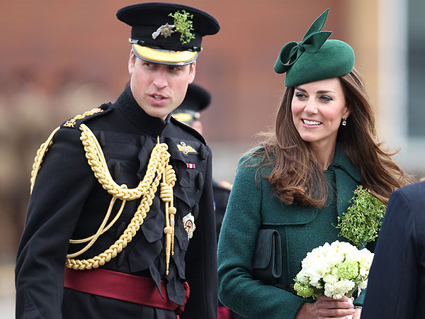Kate Middleton and Prince William, St. Patrick's Day 2014
