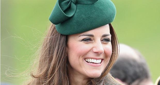 Kate Middleton on St. Patrick's Day 2014