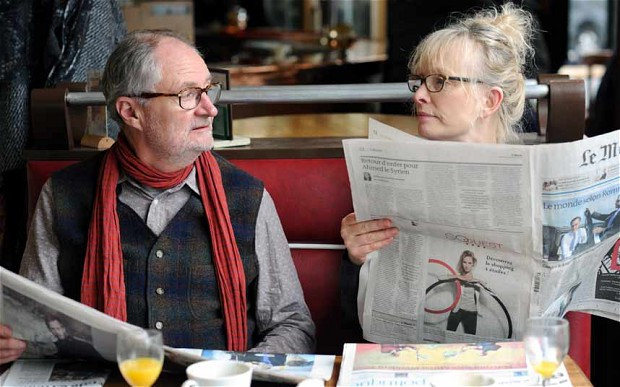"""Jim Broadbent and Lindsay Duncan in """"Le Week-End"""""""