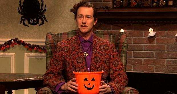 Edward Norton in SNL's Halloween Sketch