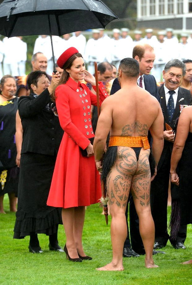 Kate Middleton Tattooed Butt 2
