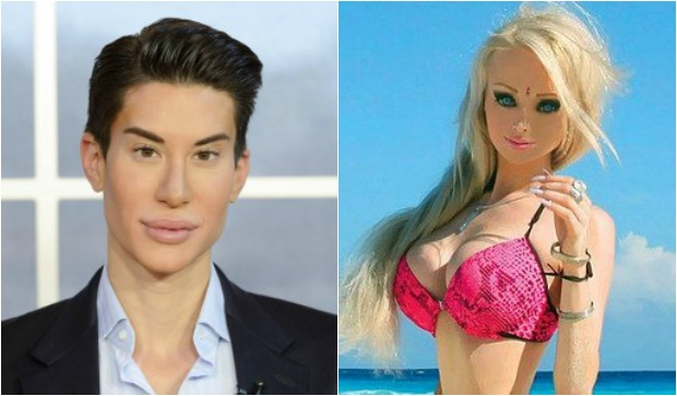 Human Ken and Barbie