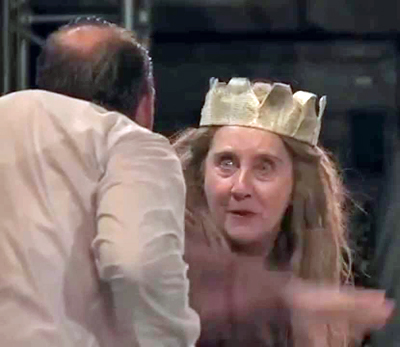 Gemma Jones in Richard III