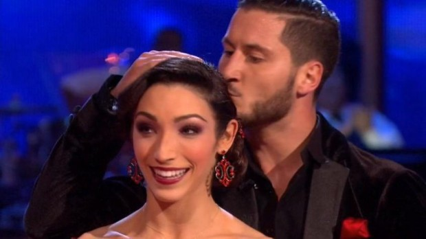 "Meryl Davis and Val Chmerkovskiy  on ""Dancing With the Stars"" 