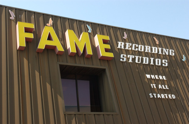 FAME Recording Studios in Muscle Shoals, Alabama
