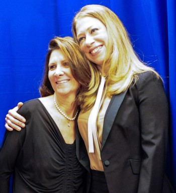 """""""Of Many"""" Director Linda G. Mills and Executive Producer Chelsea Clinton 